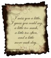 Image result for i miss you quotes for him