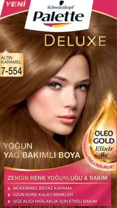 Palette 2017 Saç Renk Kartelası - Palette Altın Karamel Saç Boyası rengi