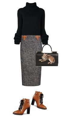 """""""Untitled #1585"""" by christawallace ❤ liked on Polyvore featuring Tom Ford, Tod's, IO Ivana Omazić and Dolce&Gabbana"""