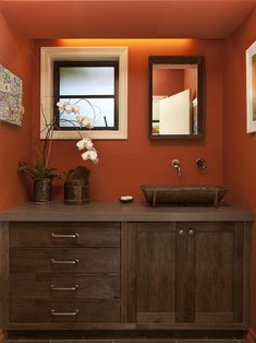 Rustic Paint Colors 14 color palettes that work | orange paint colors, paint color