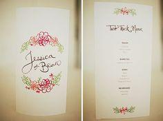Real Wedding: Jessica + Brians Modern Wedding