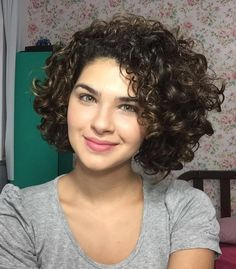 women's cute short curly hairstyles for 2017 spring
