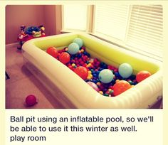 Diy Ball Pit Playroom/Party