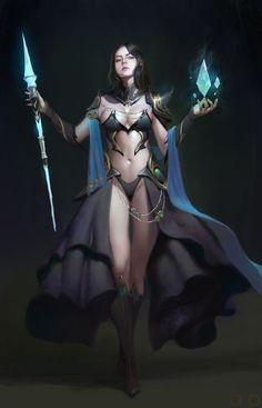 Dark healer, ㅇㅇ Joo on ArtStation at https://www.artstation.com/artwork/3ZNNv