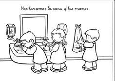 Dibujos para colorear de normas de convivencia en el aula - Imagui