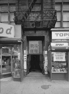 The 9:30 Club, in its original location at 930 F Street, was a seminal all-ages nightclub that fed the the 1980′s DC hardcore scene.  The club was known for fostering young talent like Black Flag and X and admitting punk fans as young as sixteen.  It was also notoriously smelly.