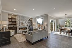 We love this cozy living room. Perfect for a late Monday afternoon nap. #realestate