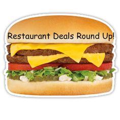 COUPONS $$ Restaurant Deals Round Up (5/4)!