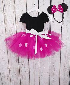 YiZYiF Mädchen Kinder Kostüm Ballettkleid Geburtstag Party Karneval Fasching Cosplay Halloween Kostüm Kleid mit Ohren (80, Schwarz + Dunkel Rosa): Amazon.de: Bekleidung