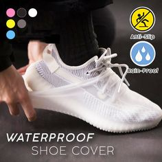 Always make your shoes wet and dirty during rainy days? Waterproof Shoe Covers can solve your problem! These shoe covers are engineered with water-resistant material to protect your beloved shoes from rain, slush, and snow. Fashion Shoes, Mens Fashion, Snow Fashion, Cool Inventions, Cool Things To Buy, Stuff To Buy, Your Shoes, Shoe Game, Sneakers