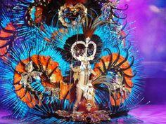 Amanda Perdomo,  Reina del Carnaval de Santa Cruz de Tenerife 2014