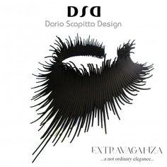 Award-winning Extravaganza Neck Piece by Dario Scapitta