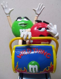 WINTER SALE Vintage c.1991 First issue M M&m Characters, M M Candy, Candy Dispenser, Vintage Candy, Melt In Your Mouth, Winter Sale, Antique Toys, Vintage Advertisements, Vintage Items