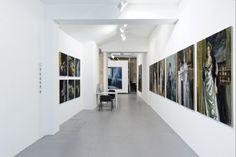 """Olivier Masmonteil, Solo show """"La mémoire du passé, Installation View, Galerie Dukan (Paris, France), 2014"""