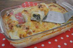 Pastarolletjes met gehakt en spinazie  Huisgemaakt