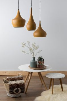 bol.com   Zuiver Would Cone - Hanglamp - Bruin   Wonen