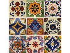 Decorative Mexican Tiles, Moroccan and Spanish Ceramic Tiles by Old World Tiles | Architecture And Design