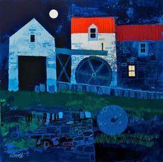 George Birrell - 'Night Mill'