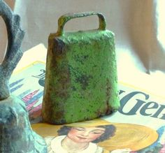 French Bell Cow Goat Antique Hand Forged by OnceUponATimeVtg2