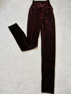 Super Comfy Velour Leggings! <3  http://www.styledecordeals.com/2013/08/super-comfy-velour-leggings.html
