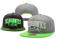 NFL Seattle Seahawks Fashionable Snapback Cap for Four Seasons