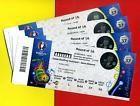 #Ticket  2 Tickets Fussball EM Match 37 Achtelfinale 25.06. in St. Etienne Kat. 3 Uefa #deutschland