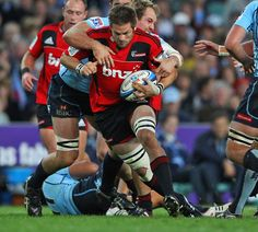 All Blacks skipper Richie McCaw brings his fabulous limbs back to Super Rugby for the Crusaders. Soccer is for sissies, rugby is for men ; Crusaders Rugby, Boys Who, My Boys, Rugby Gear, All Blacks Rugby Team, Richie Mccaw, Super Rugby, Rugby League, It's Raining