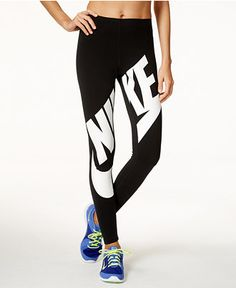 Nike Leg-A-See Logo Leggings - Pants - Women - Macy's