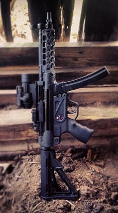 Spuhr upgraded MP5. - http://www.RGrips.com