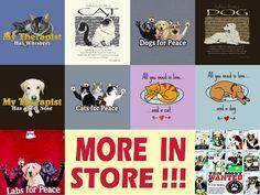 Cat Dog Lover Tshirt NWT ADVICE Peace Therapist Rescue Wanted Pooper Scooper #Gildan #ShortSleeveTSHIRT