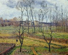 Gustave Loiseau. Overcast Weather at Nesles-la-Vallee, 1896   Flickr - Photo Sharing!