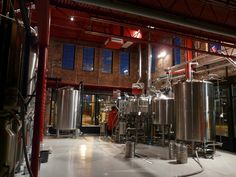 Brewery Interior | Credit: Mother Earth Brewing