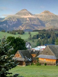 Zdiar Heart Of Europe, She Sheds, Mountain Village, Slovenia, Hungary, Cottage, Country, House Styles, Places