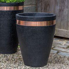 Moderne Tapered Planter | Kinsey Garden Decor