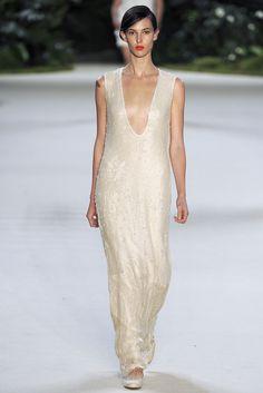 Akris Spring 2013 Ready-to-Wear Fashion Show - Ruby Aldridge