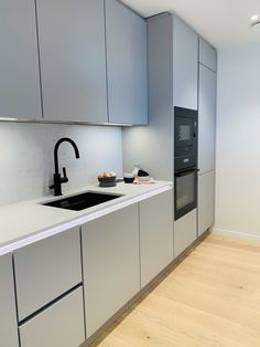 New Kitchen, Kitchen Design, Kitchen Cabinets, Ideas, Home Decor, Shaker Kitchen, Drawer Pulls, Kitchens, Decoration Home