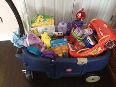 Easter basket idea for little boys
