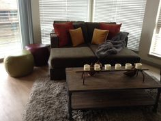 Custom 6s Deep Forest Velvish movie lounger with Hacienda and Amber Royal Velvet throw pillows #Lovesac