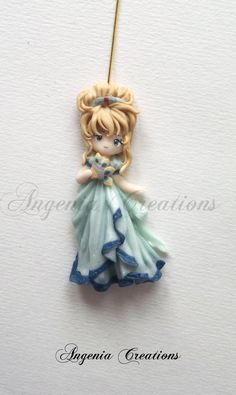 *SORRY, no information as to product used, FOREIGN ~ Lady oscar elegant version by ~AngeniaC on deviantART Polymer Clay People, Polymer Clay Figures, Polymer Clay Dolls, Polymer Clay Projects, Polymer Clay Charms, Polymer Clay Creations, Polymer Clay Jewelry, Clay Crafts, Cute Clay