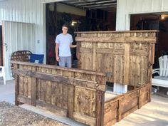 ryobi nation farmhouse california king in 2018 bedrooms pinterest furniture rustic. Black Bedroom Furniture Sets. Home Design Ideas