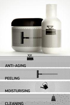 embalagem de cosmético