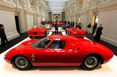 Ferrari as Artwork Paris Museum exhibition