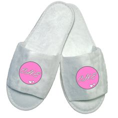 £5.50 Personalised Initials Slippers