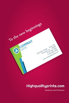 Business card - Flyer - Brochure Design & printing company highqualityprints.com