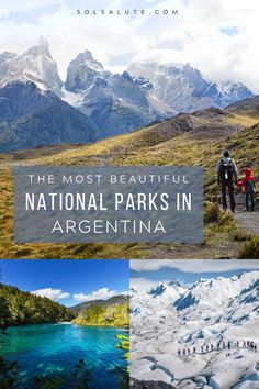 The most beautiful National Parks in Argentina | Argentina National Parks | Parques nacionales de Argentina | Things to do in Argentina | Places to visit in Argentina | Iguazu Argentina | Perito Moreno in Argentina | Best nature destinations in Argentina | Wildlife in Argentina | where to go in Argentina | Argentina bucket list #Argentina #NationalPark #Patagonia