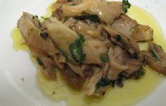 -Cozinha Sem Tabus-: Cogumelos Salteados com Mangericão