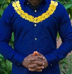 African men's wear/embroidery African shirt/Jolomie design for men/African high fashion/African wear/trendy African style