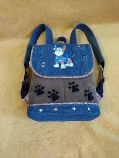 Handmade Kids Bags, Kids Tote Bag, Sweet Bags, Kids Frocks Design, Jean Crafts, Recycle Jeans, Denim Bag, Fabric Bags, Girl Backpacks