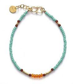 ANNI LU BG03 bracelet / aqua