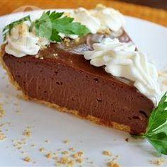 Cheesecake de Nutella® sin hornear @ allrecipes.com.mx